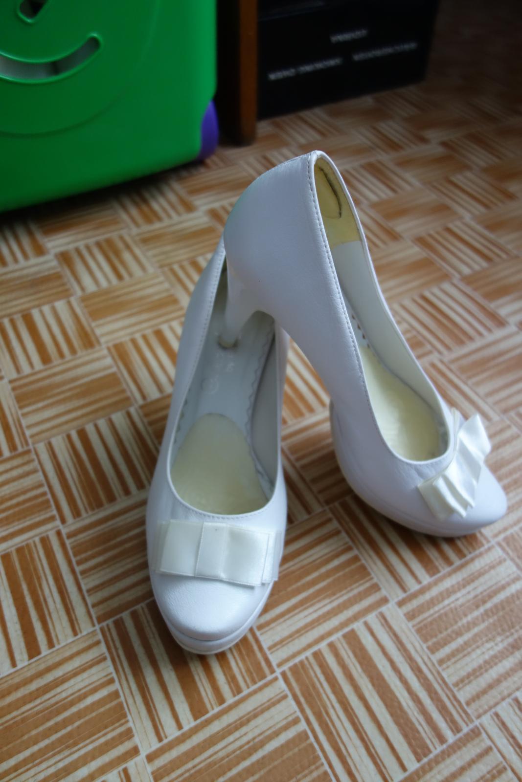 Svadobné topánky veľkosť 36 - Obrázok č. 2