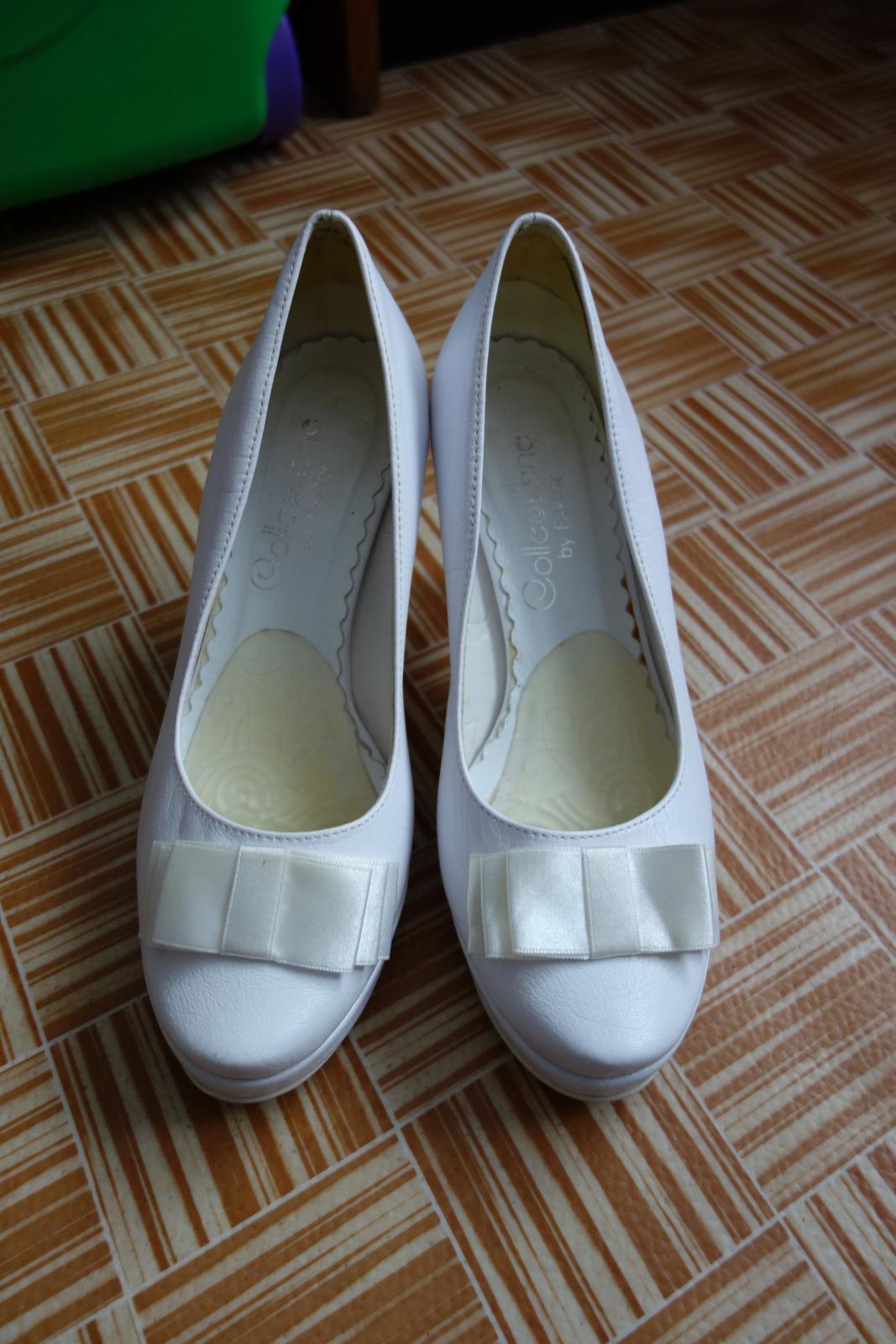 Svadobné topánky veľkosť 36 - Obrázok č. 3