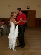 úvodní tanec novomanželů