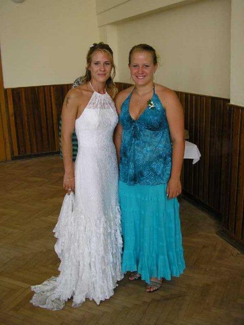 Já s mojí mladší sestrou