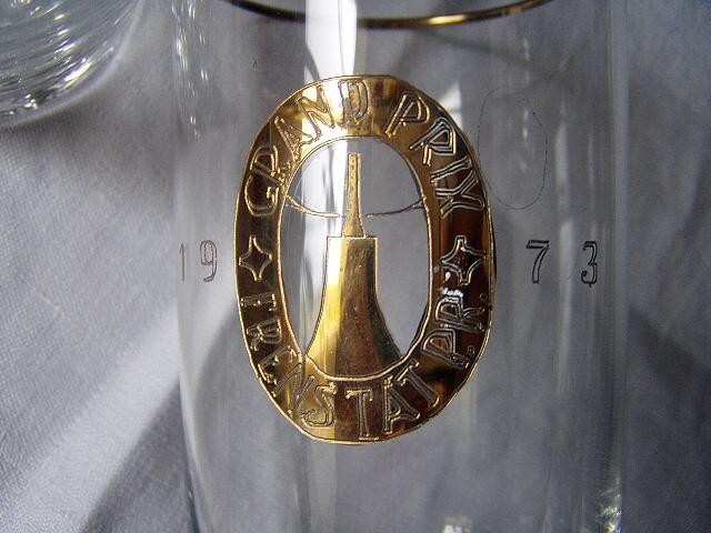poháre na koňak a vodu Grand Prix 1973 - Obrázok č. 3
