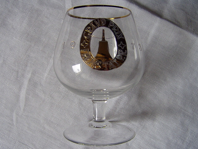 poháre na koňak a vodu Grand Prix 1973 - Obrázok č. 4