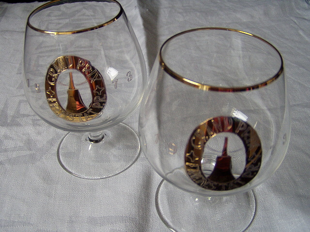 poháre na koňak a vodu Grand Prix 1973 - Obrázok č. 1