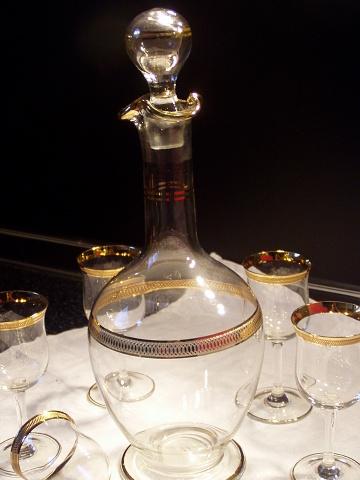 Karafa plus poháre - Obrázok č. 1