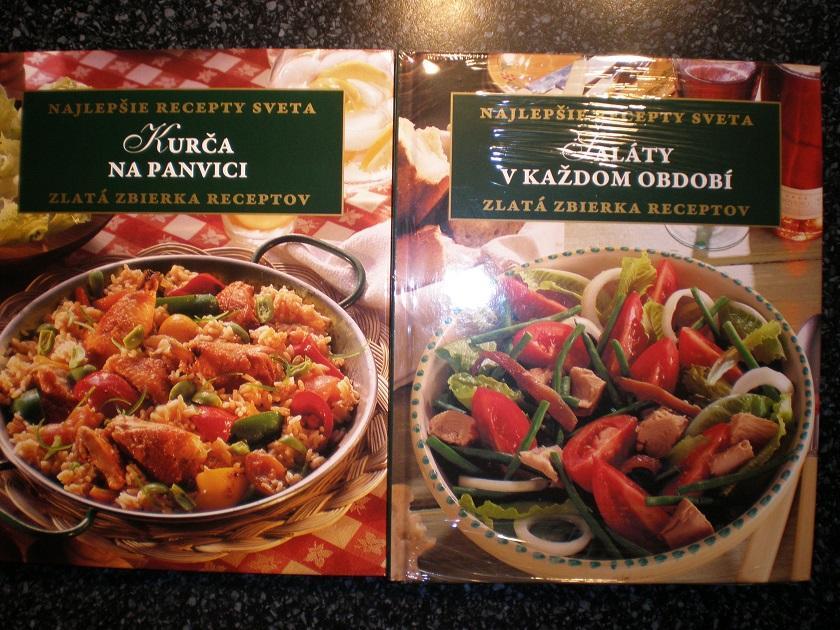 Kuchárske knihy 2 kusy - aj jednotlivo - Obrázok č. 4