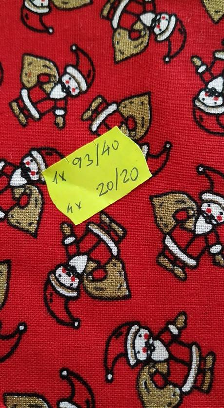 Nepoužité vianočné prestieranie - Obrázok č. 1