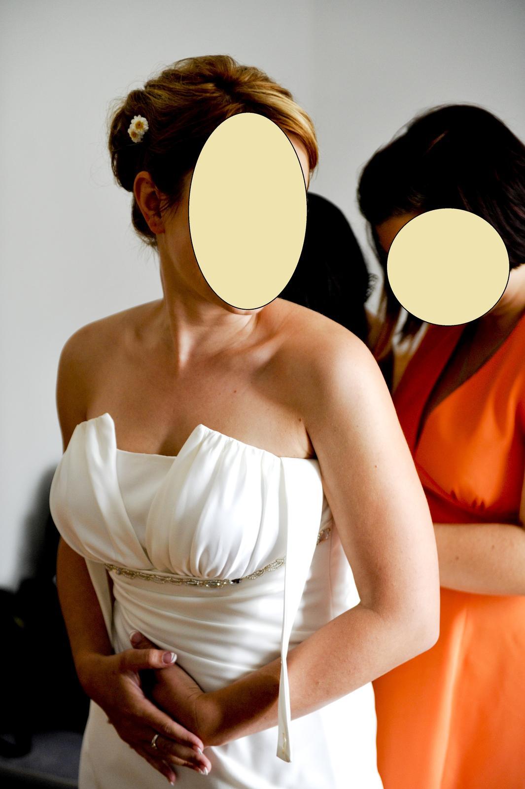 Svatební šaty vel.38/40 - Obrázek č. 2