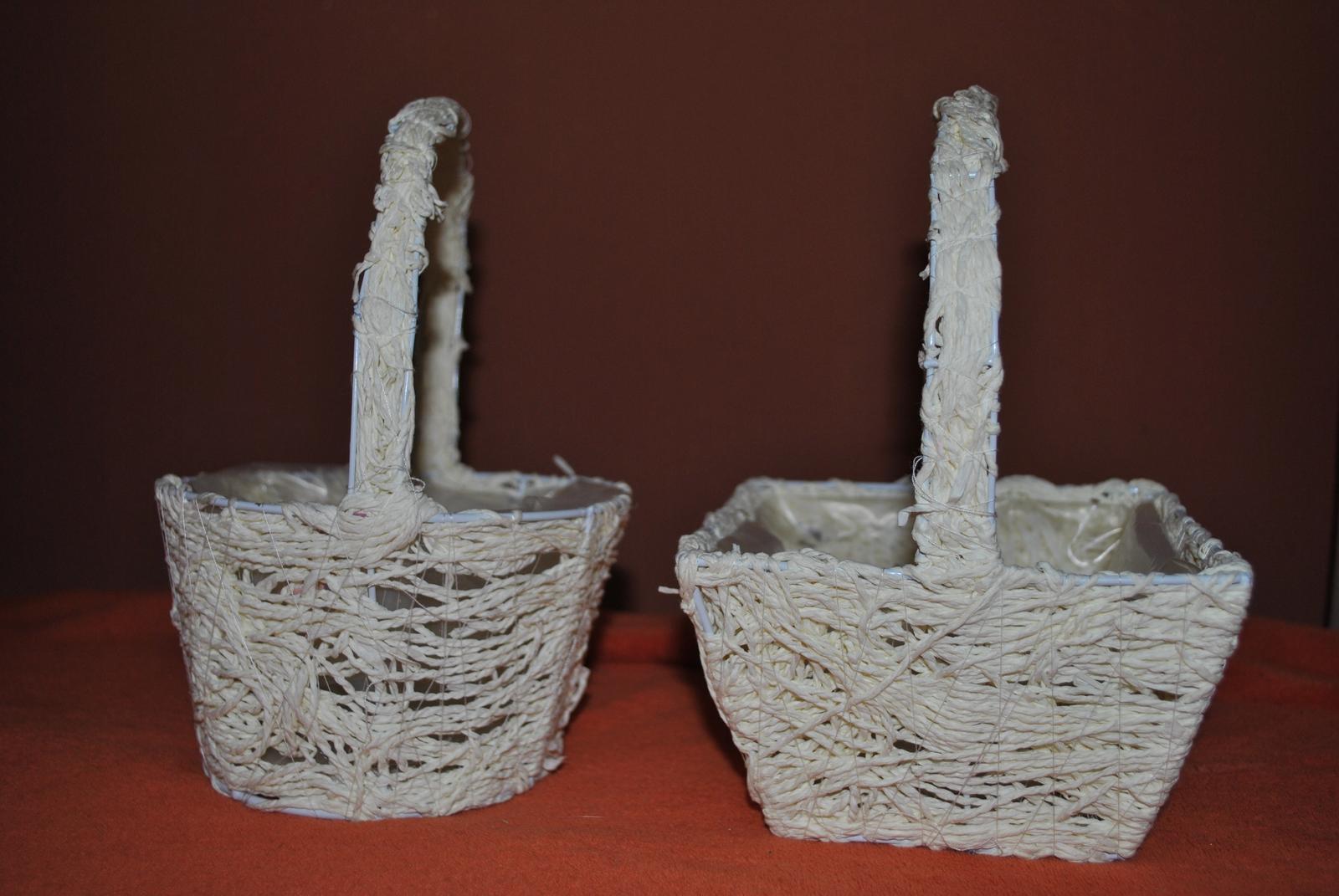 Svatební košíčky na květy  - Obrázek č. 1