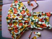 Šaty vintage s ovocem, 36