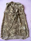 Průhledná halenka s leopardím vzorem, 36