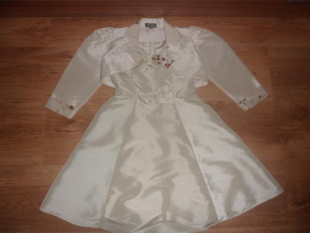 Slávnostné šaty s bolerkom - Obrázok č. 1