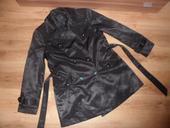 Čierny prechodný kabátik, XXL