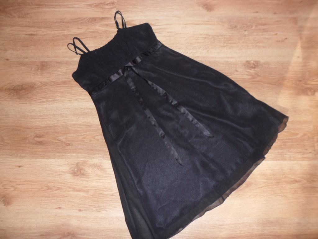 Čierne šifónové šaty - Obrázok č. 1