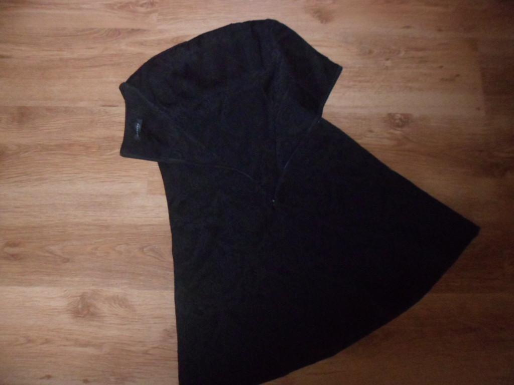 Kozetové čierne šaty - Obrázok č. 4