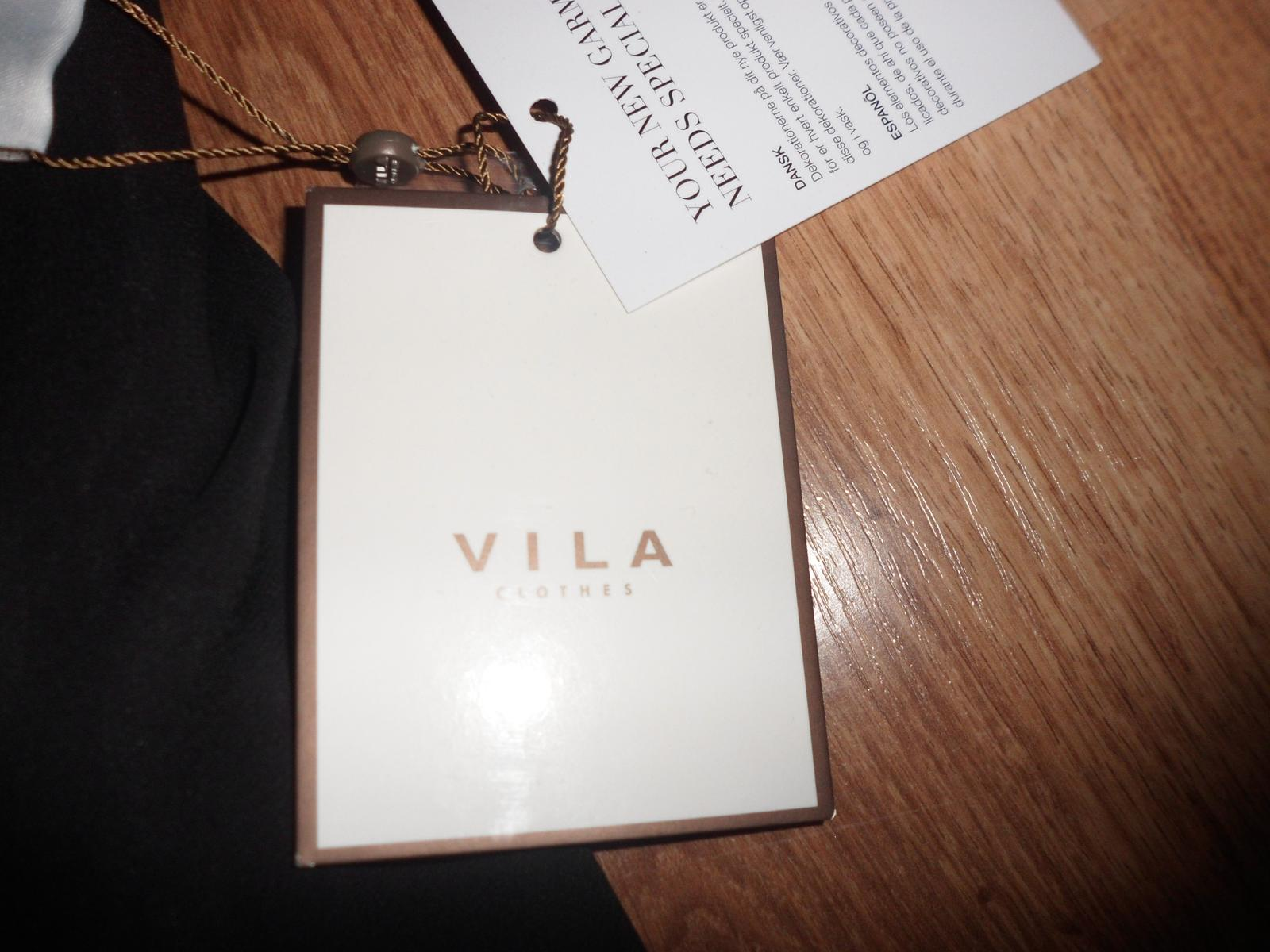 Koktailové šifónové šaty Vila Clothes - Obrázok č. 4