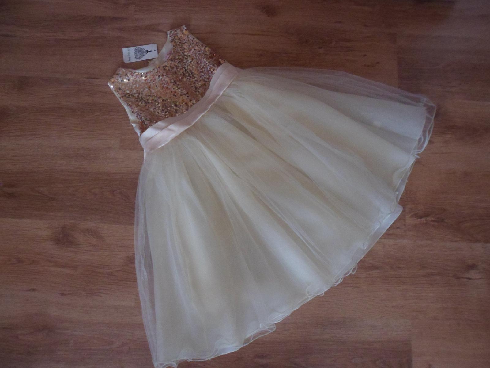 Luxusné dievčenské šaty - Obrázok č. 1