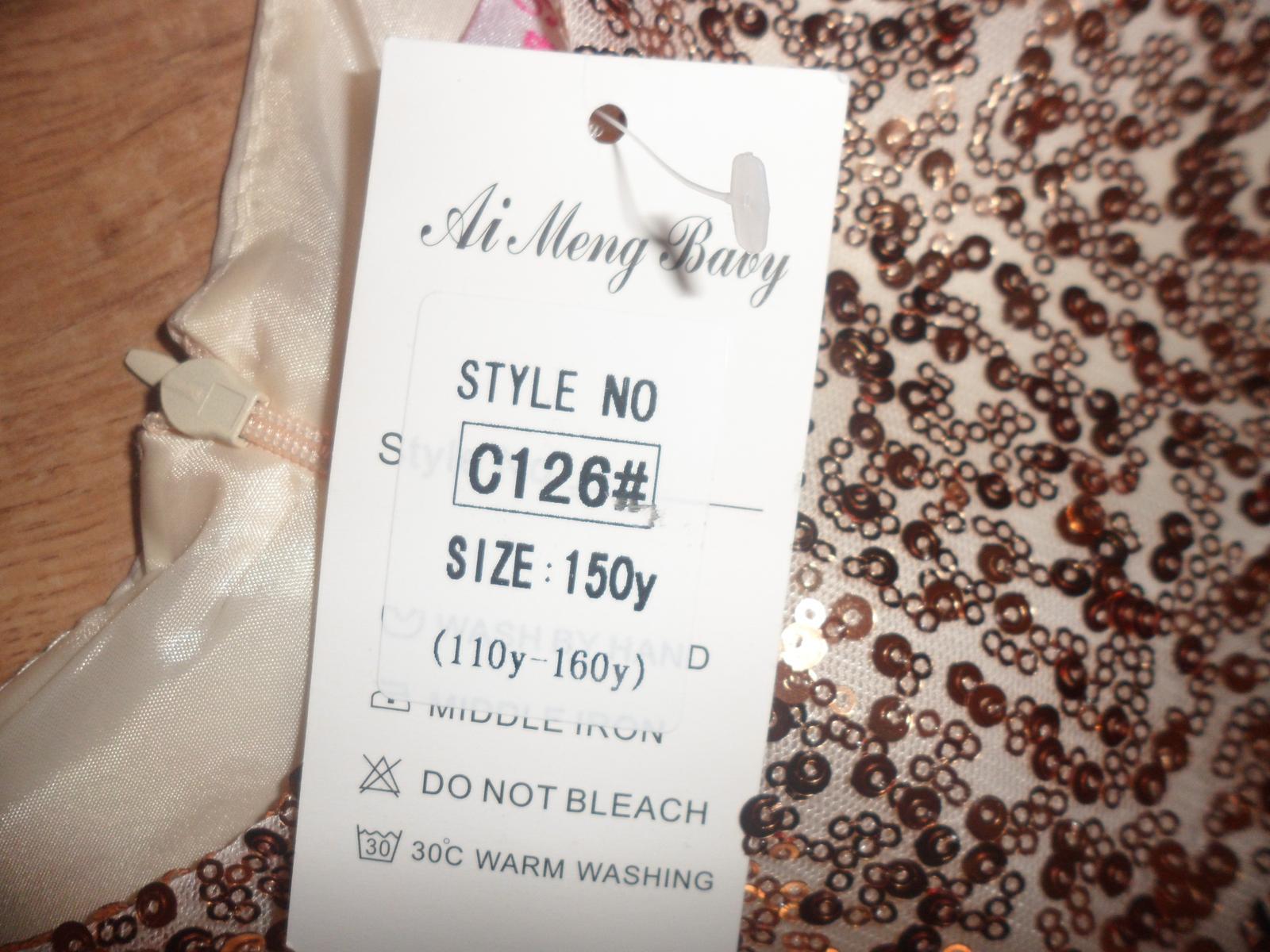 Luxusné dievčenské šaty - Obrázok č. 3