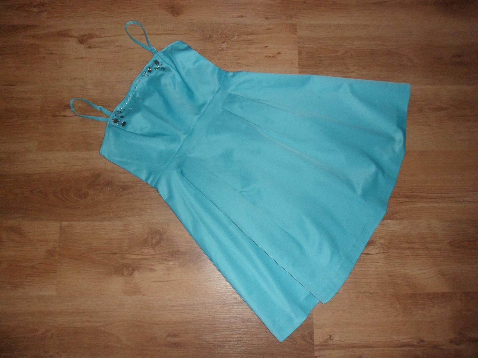 Tyrkysové šaty - Obrázok č. 4
