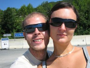 my dva na vylete v Rakousku