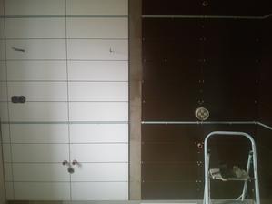 aj kúpelňa sa začína rysovať :)