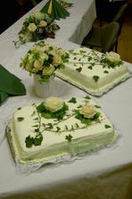 Nádherné a výborné dorty od Claudinky