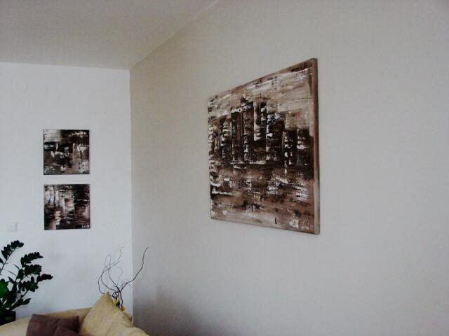 Mé obrazy v interiérech - Obrázek č. 4