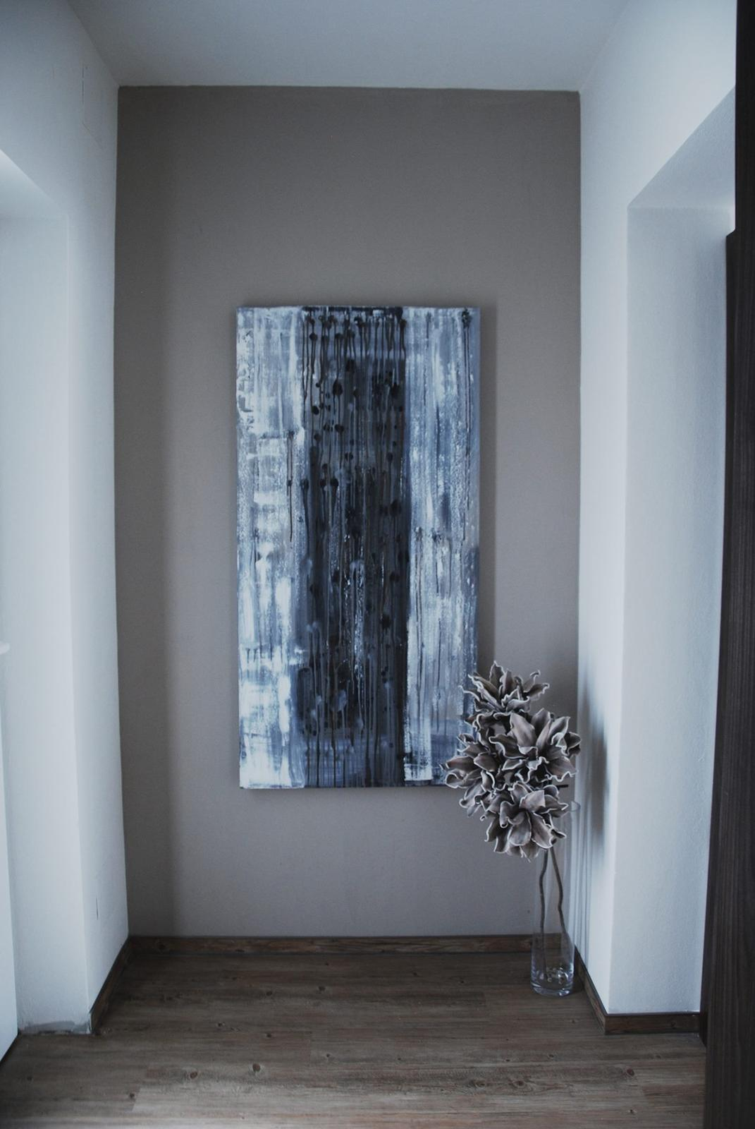 Mé obrazy v interiérech - Obrázek č. 7