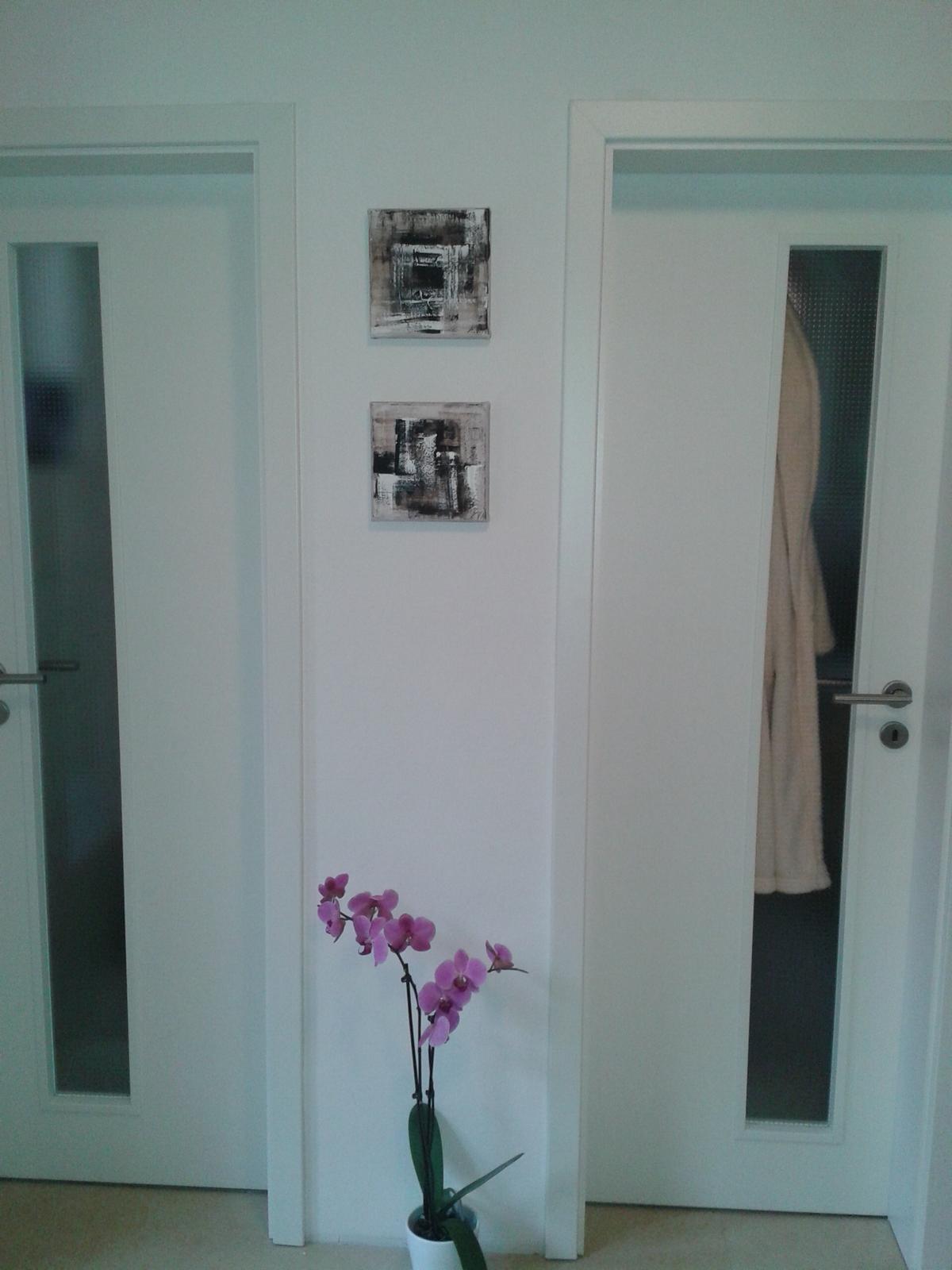 Mé obrazy v interiérech - Obrázek č. 19