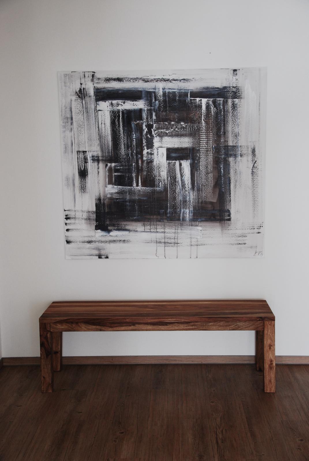 Mé obrazy v interiérech - Obrázek č. 20