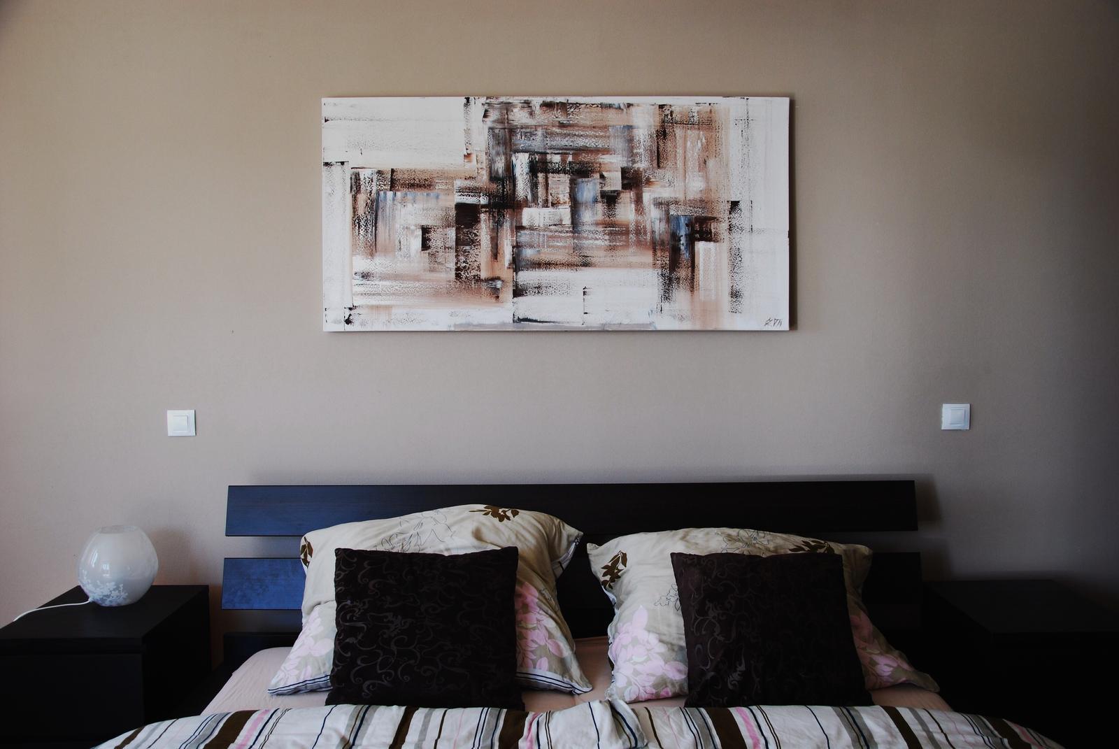 Mé obrazy v interiérech - Obrázek č. 22