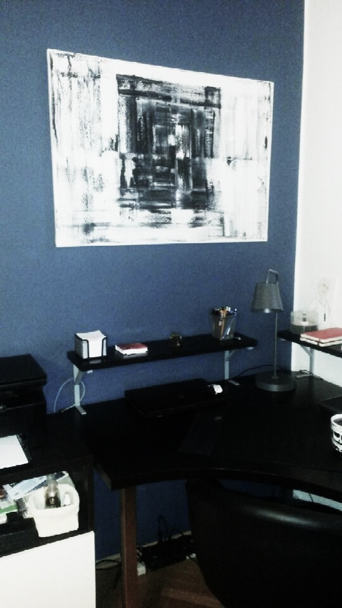 Mé obrazy v interiérech - Obrázek č. 24