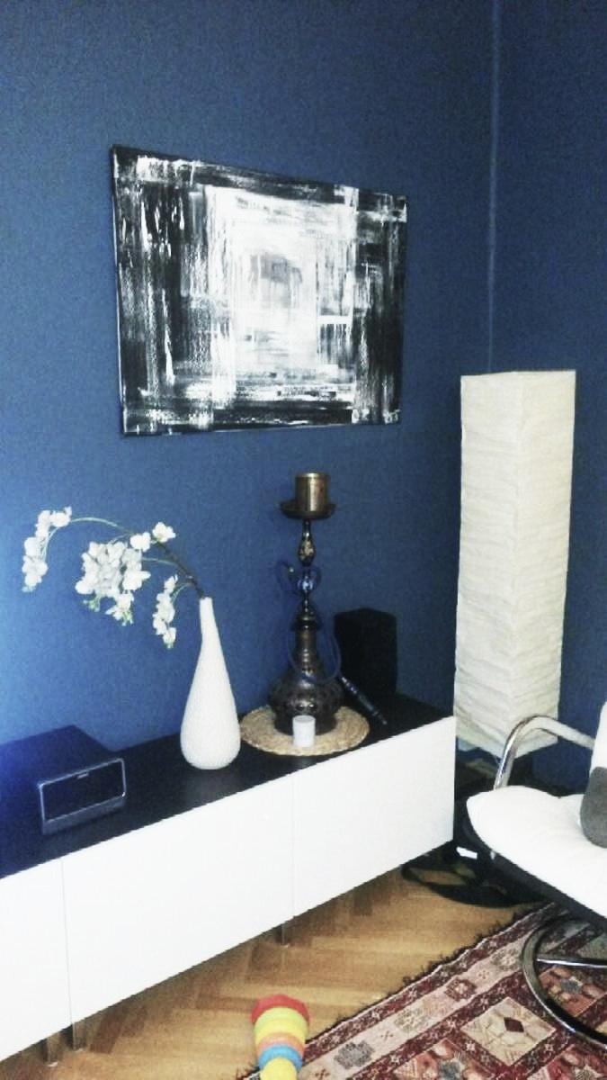 Mé obrazy v interiérech - Obrázek č. 25