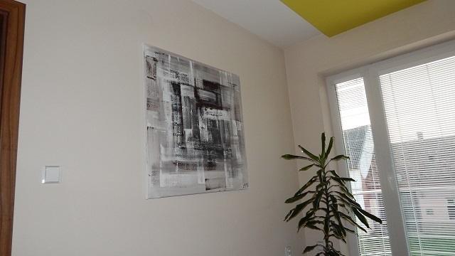 Mé obrazy v interiérech - Obrázek č. 26