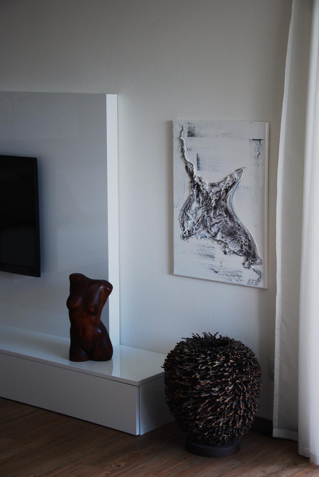 Mé obrazy v interiérech - Obrázek č. 28