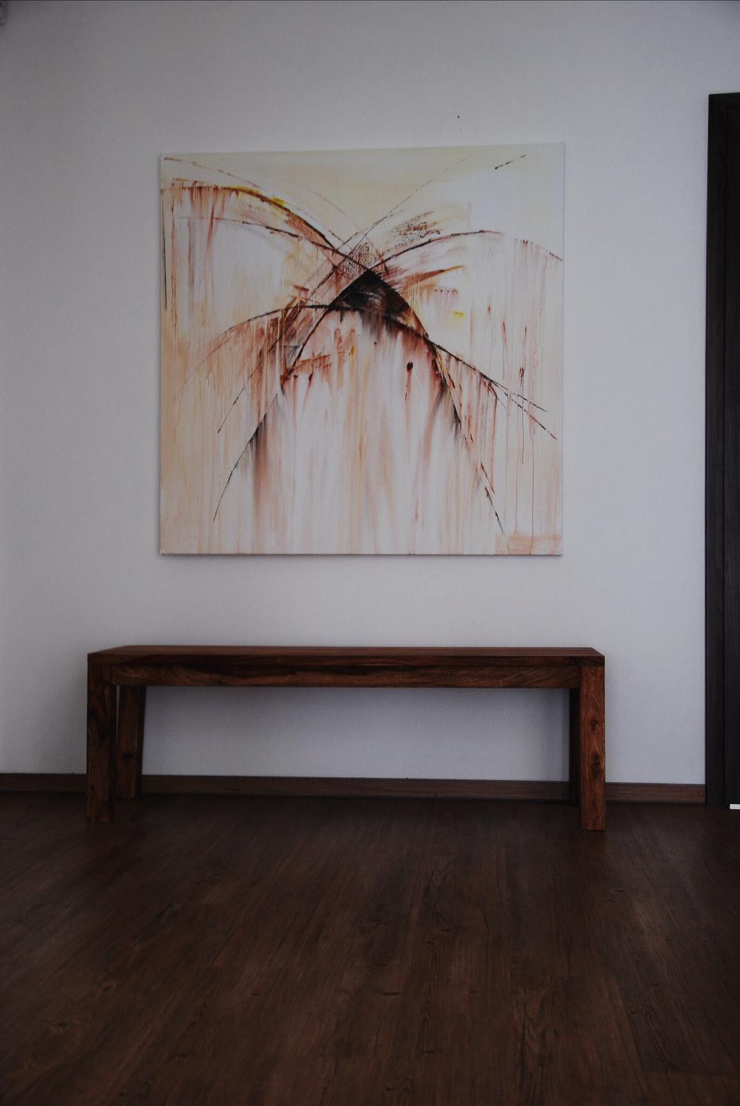 Mé obrazy v interiérech - Obrázek č. 32