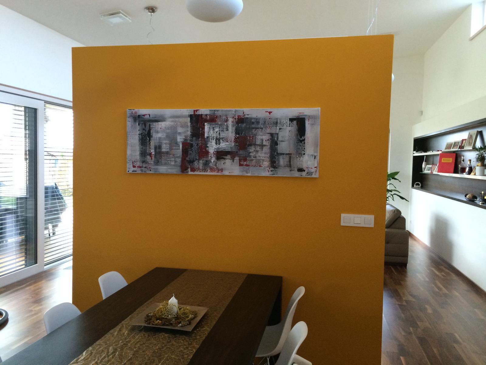 Mé obrazy v interiérech - Obrázek č. 36