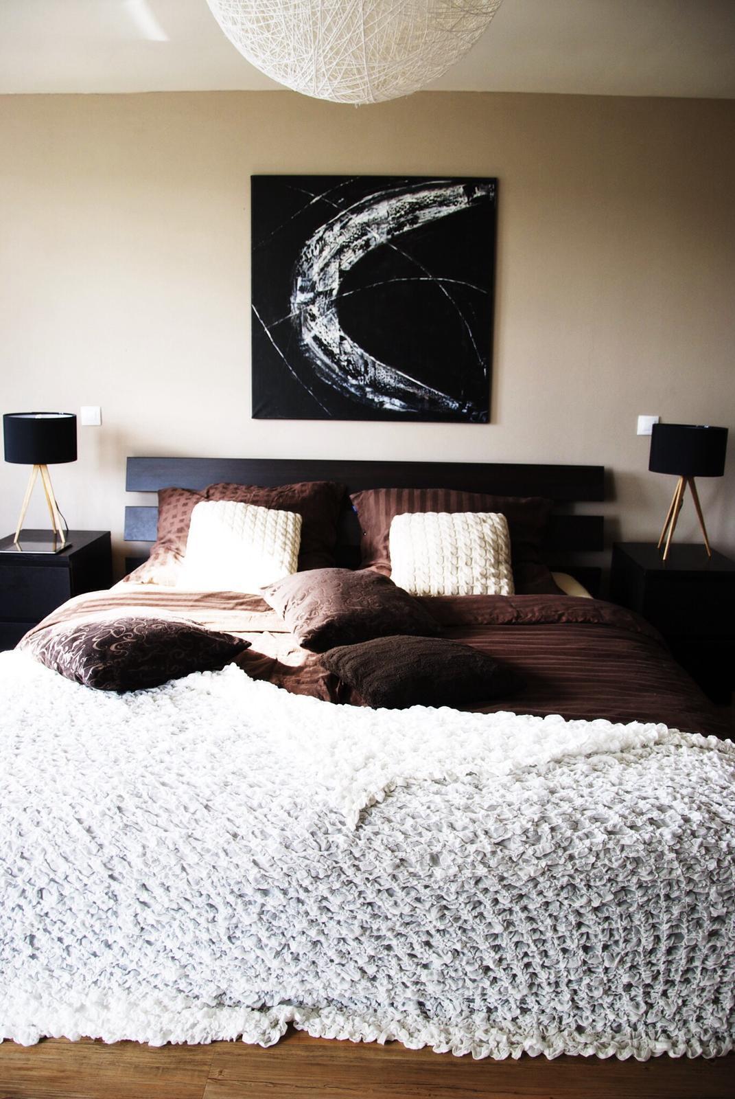 Mé obrazy v interiérech - Mléčná dráha, 95x95 cm , 8000kč na prodej
