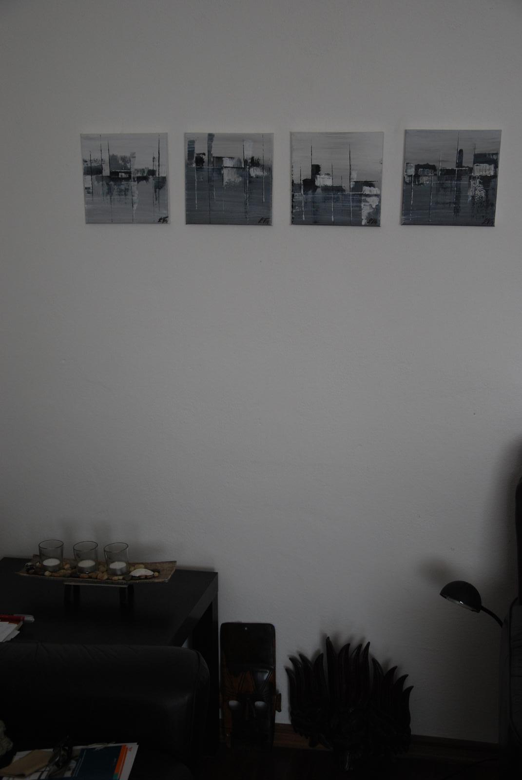 Mé obrazy v interiérech - Obrázek č. 42