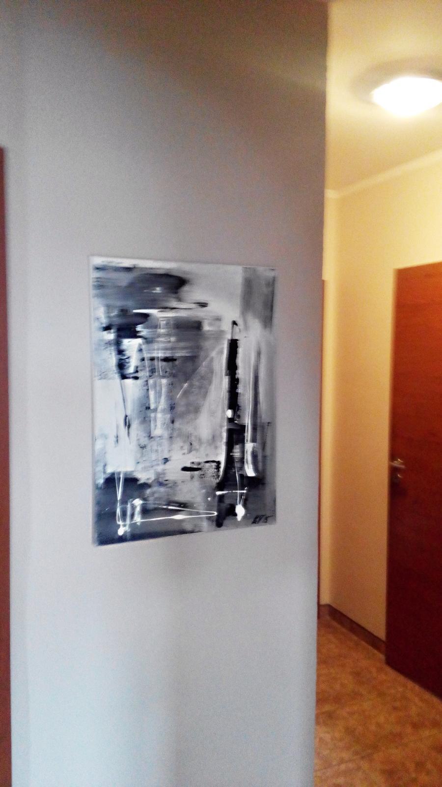 Mé obrazy v interiérech - Obrázek č. 48