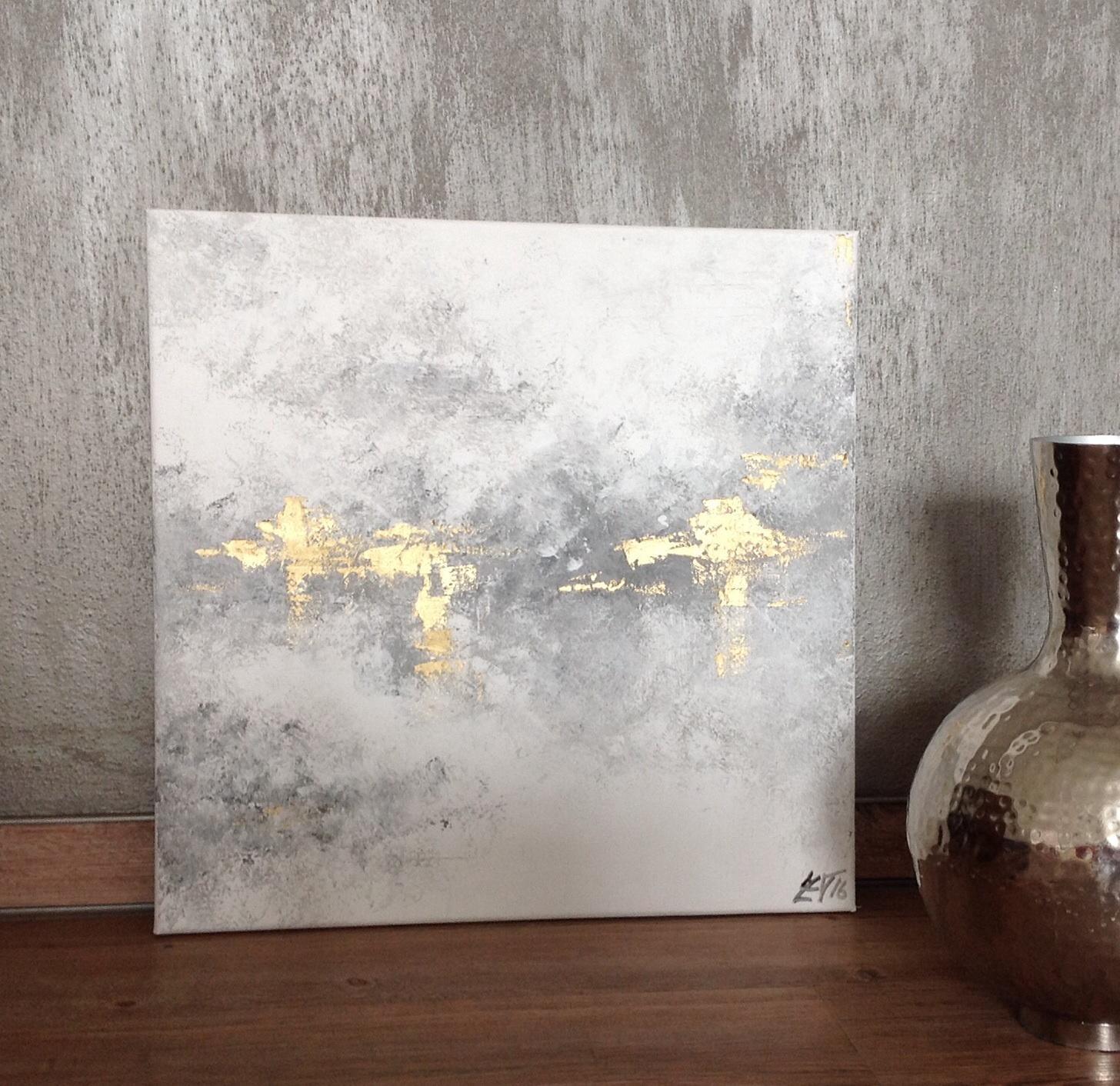 Obrazy ihned k prodeji - Zlatý stín, prodáno
