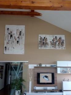 Mé obrazy v interiérech - Obrázek č. 53