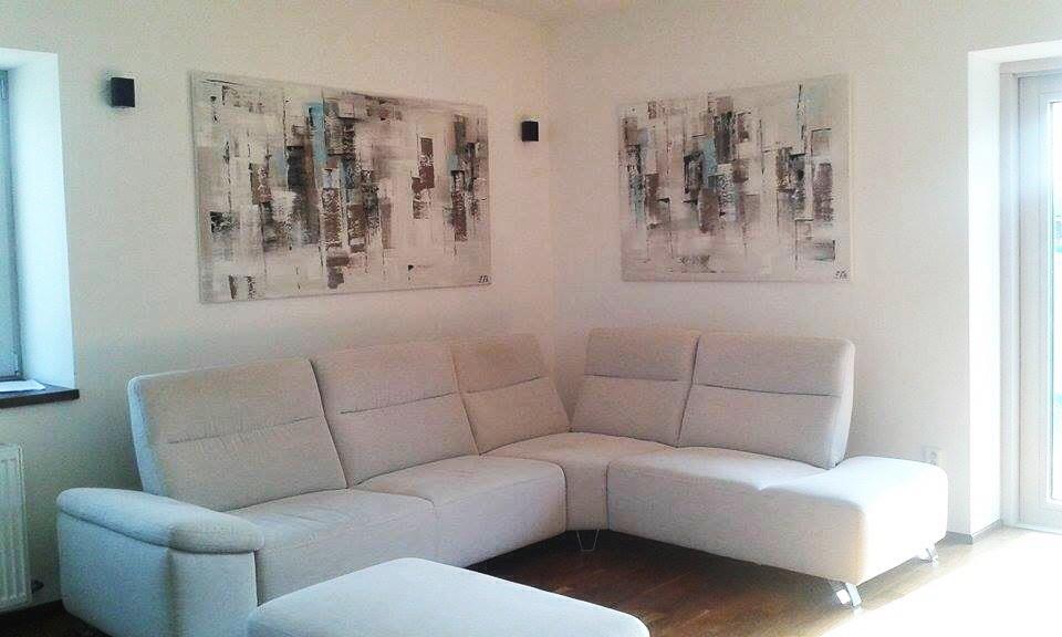 Mé obrazy v interiérech - Obrázek č. 56