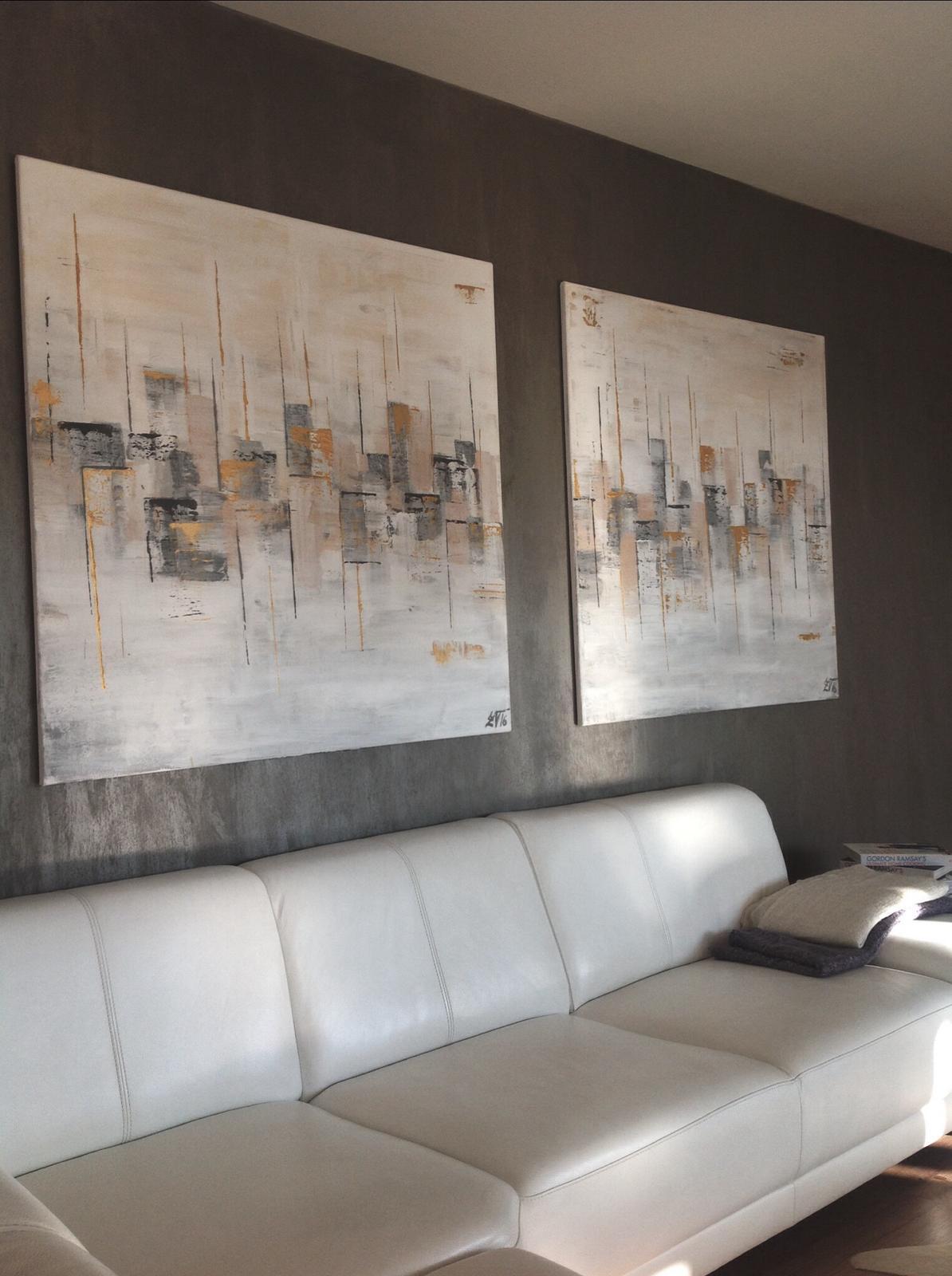 Mé obrazy v interiérech - Obrázek č. 66