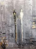 Beze slov, akryl, 80x60 cm, cena na výstavě: 5700,-  Nyní 3900,-