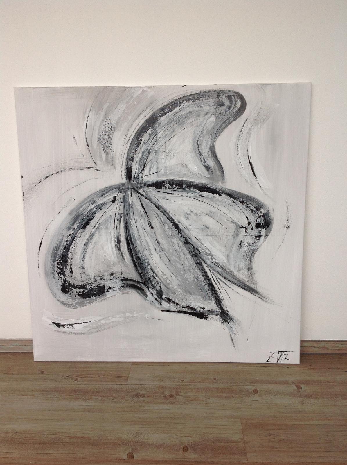 Obrazy na zakázku - Motýl, 100x100 cm