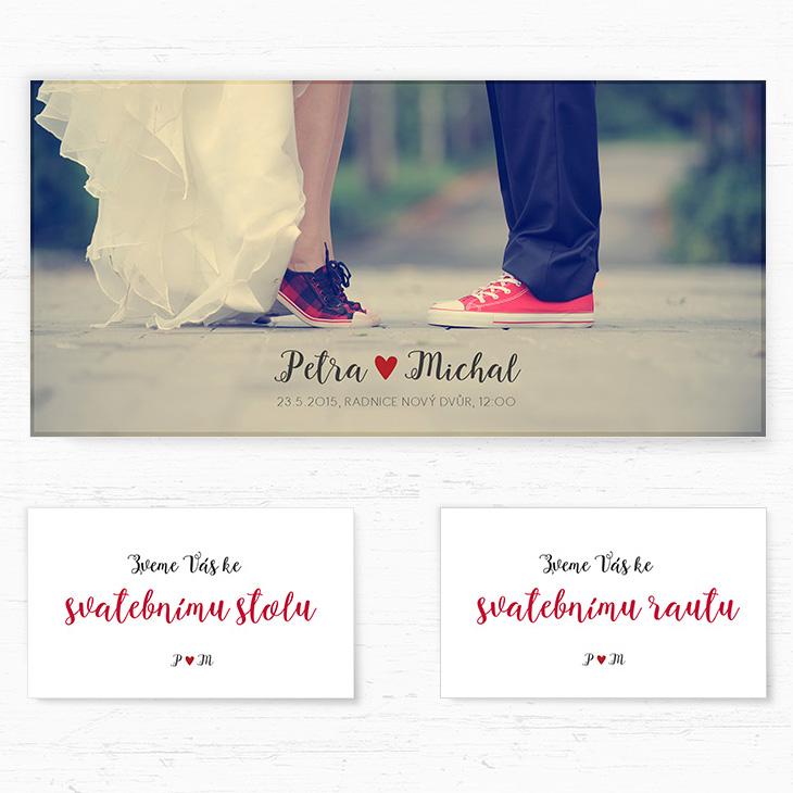 Naše svatební oznámení - Obrázek č. 3