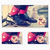 Svatební oznámení 131 - Ponožky,