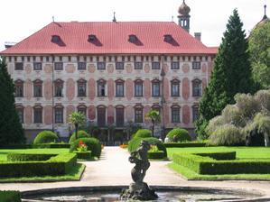 Místo konání obřadu - zámek Libochovice