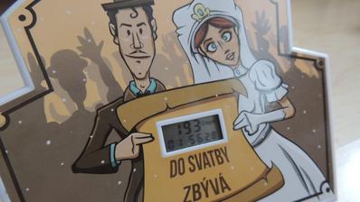 Dárek od svědkyně - počítadlo dní :)