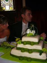 Marcipánový dortík...